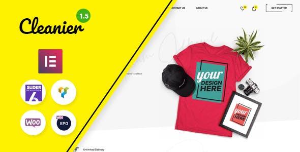 Cleanier - Fashion WooCommerce Theme