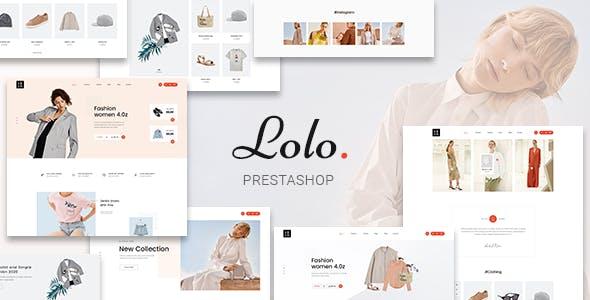 Lolo - Minimalist Fashion PrestaShop 1.7 Theme