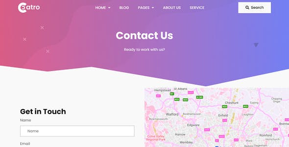 Coatro - Digital Agency Elementor Template Kit