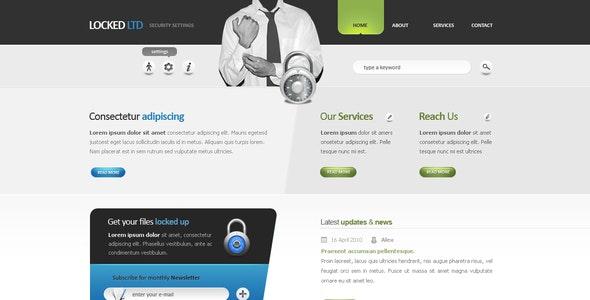 Locked LTD - Corporate Web Design - Business Corporate