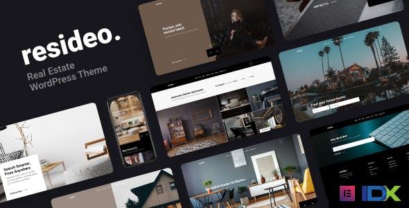 Resideo - Real Estate WordPress Theme