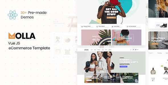 Molla - VueJS eCommerce Template - Fashion Retail