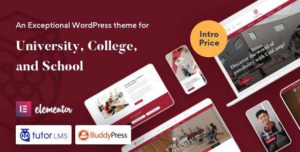 Unicamp - University and College WordPress Theme - Education WordPress