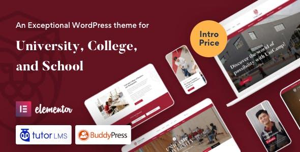 Unicamp - University and College WordPress Theme