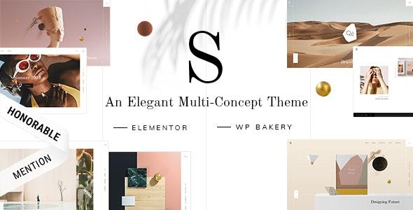 Sahel - An Elegant Multi-Concept Theme - Portfolio Creative