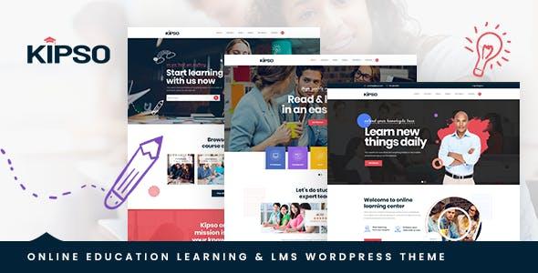 Kipso - Education LMS WordPress Theme