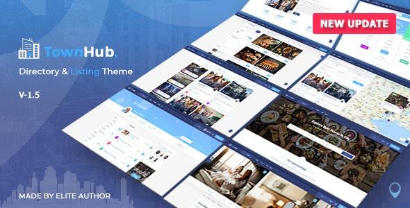 TownHub v1.6.4 – Directory & Listing WordPress Theme