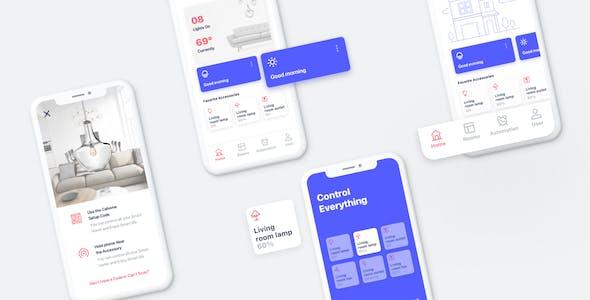 Cahome - Smart Home UI Kit