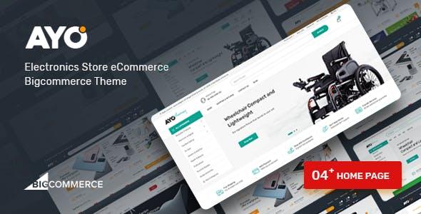 Ayo - Multipurpose Responsive Bigcommerce Theme