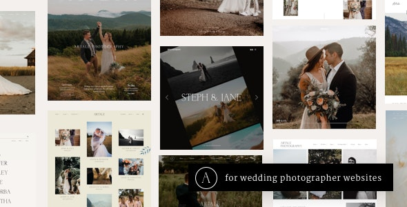 Artale | Wedding Photography WordPress - Photography Creative