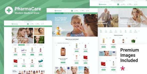 PharmaCare - Pharmacy and Medical Store - WooCommerce eCommerce