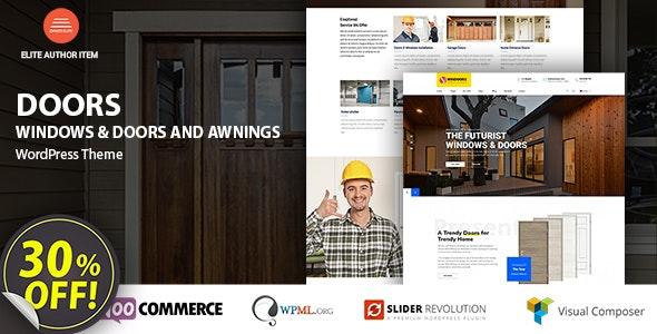 Windows & Doors - High Quality WordPress Theme - Business Corporate