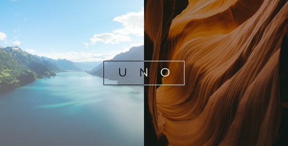 Uno - Creative Photography WordPress Theme - Photography Creative