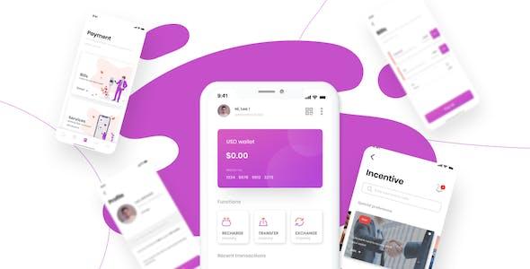 Cen - Bank and Wallet Mobile UI Kit for Finance