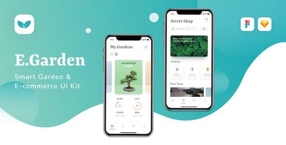 EGarden - Smart Garden Management App UI KIT