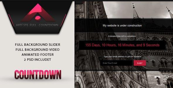 ARTISTE - Countdown Template