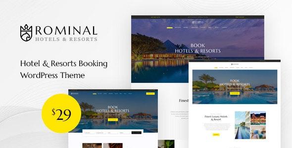 Rominal - Hotel Booking WordPress Theme - Travel Retail