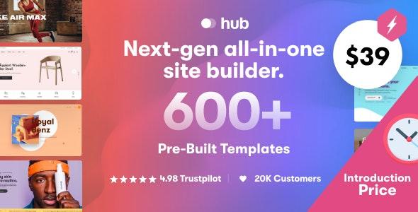 Hub v1.0.4 – Responsive Multi-Purpose WordPress Theme