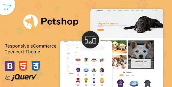 Pestore - Responsive Food Pet Store OpenCart 3 Theme - Shopping OpenCart