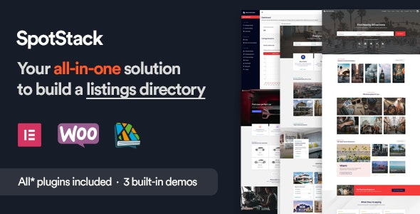 SpotStack - Directory & Listing WordPress Theme - Directory & Listings Corporate