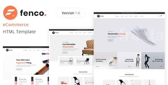 Fenco - eCommerce HTML Template - Shopping Retail