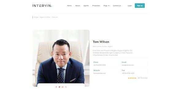 Intervin - Real Estate Elementor Template Kit