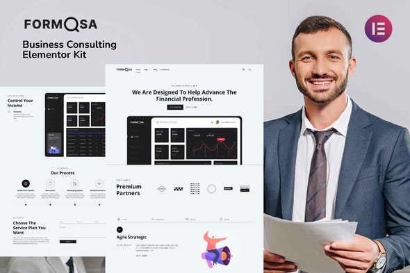 Formosa - Business Consulting Elementor Template Kit - Business & Services Elementor