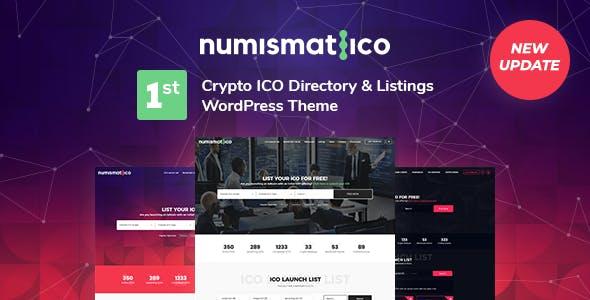 Numismatico - Cryptocurrency Directory & Listings WordPress Theme