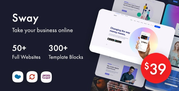 Sway - Multi-Purpose WordPress Theme with Page Builder - Business Corporate
