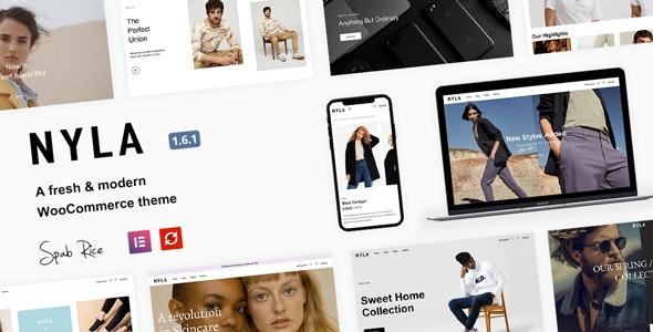 Nyla v1.6.1 – A Fresh & Modern WooCommerce Theme
