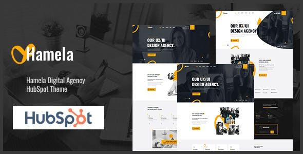 Hamela - Digital Agency Services HubSpot Theme