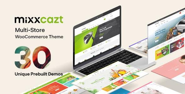 Mixxcazt v1.5.2 – Creative Multipurpose WooCommerce Theme