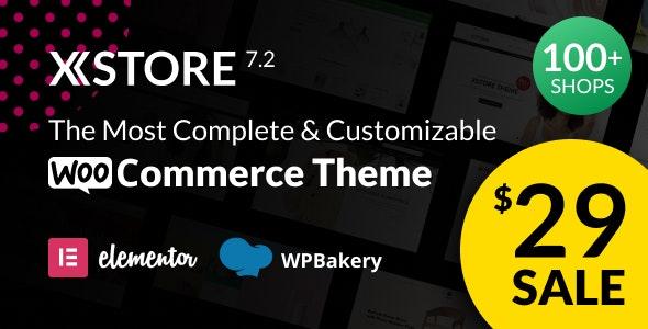 XStore v7.2.10 – Responsive Multi-Purpose WooCommerce WordPress Theme