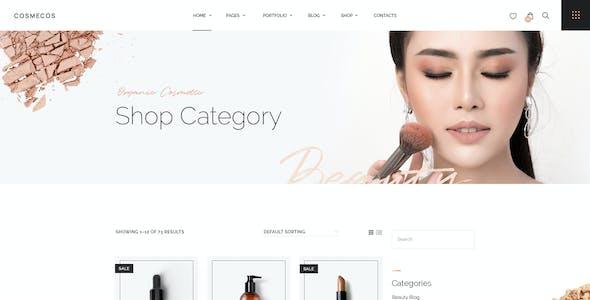 Cosmecos   Cosmetics & Perfumes WordPress Theme
