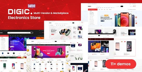 Digic – Electronics Store WooCommerce Theme - WooCommerce eCommerce