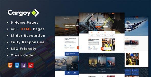 Cargoy - Logistics & Transportation HTML Template