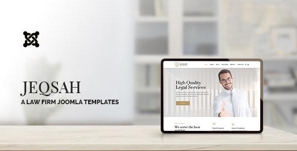 Jeqsah v1.0 – Law Lawyer & Attorney Joomla Templates