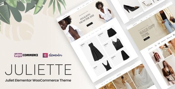Juliette v1.0.2 – Elementor WooCommerce Theme