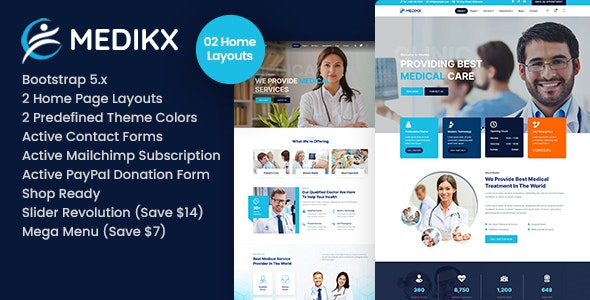 Medikx - Healthcare HTML Template - Health & Beauty Retail