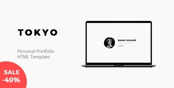 Tokyo v1.0 – Personal Portfolio Template