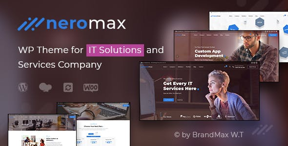NeroMax - Technology and IT Solutions WordPess Theme