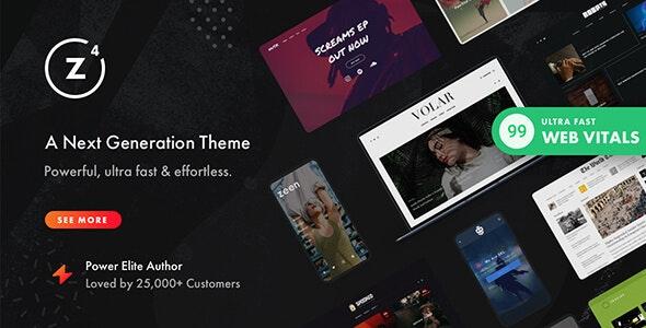 Zeen v4.0.9.6 – Next Generation Magazine WordPress