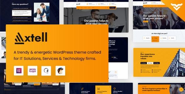 Axtell - IT Solutions WordPress Theme - WordPress