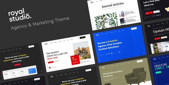 RoyalStudio - Agency & Marketing Theme - Creative WordPress