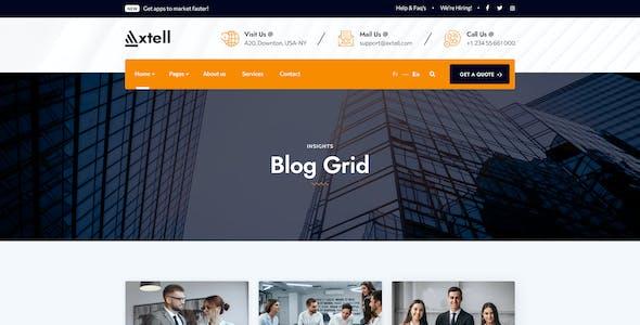 Axtell - Business PSD Template