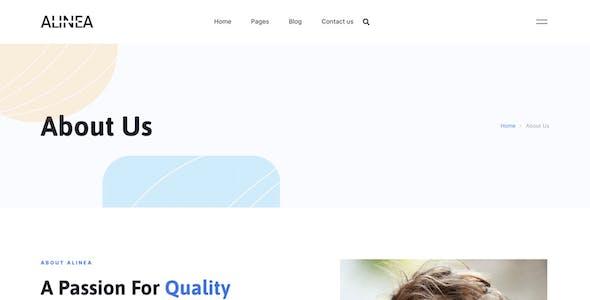 Alinea - Marketing Agency Elementor Template Kit