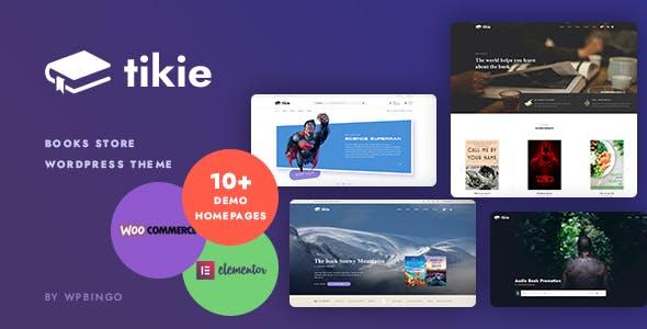 Tikie – Book Store WooCommerce WordPress Theme
