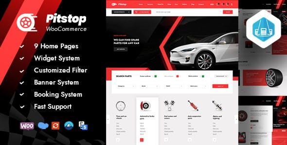 Pitstop - Auto Parts WooCommerce
