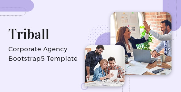 Triball - Corporate Agency Bootstrap 5 Template - Business Corporate