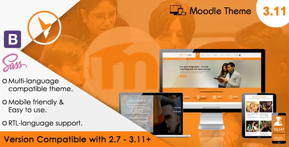 LearningZone - Responsive Moodle Theme - Moodle CMS Themes